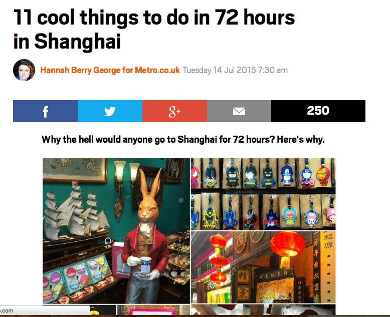 Shanghai Food Tour UnTour