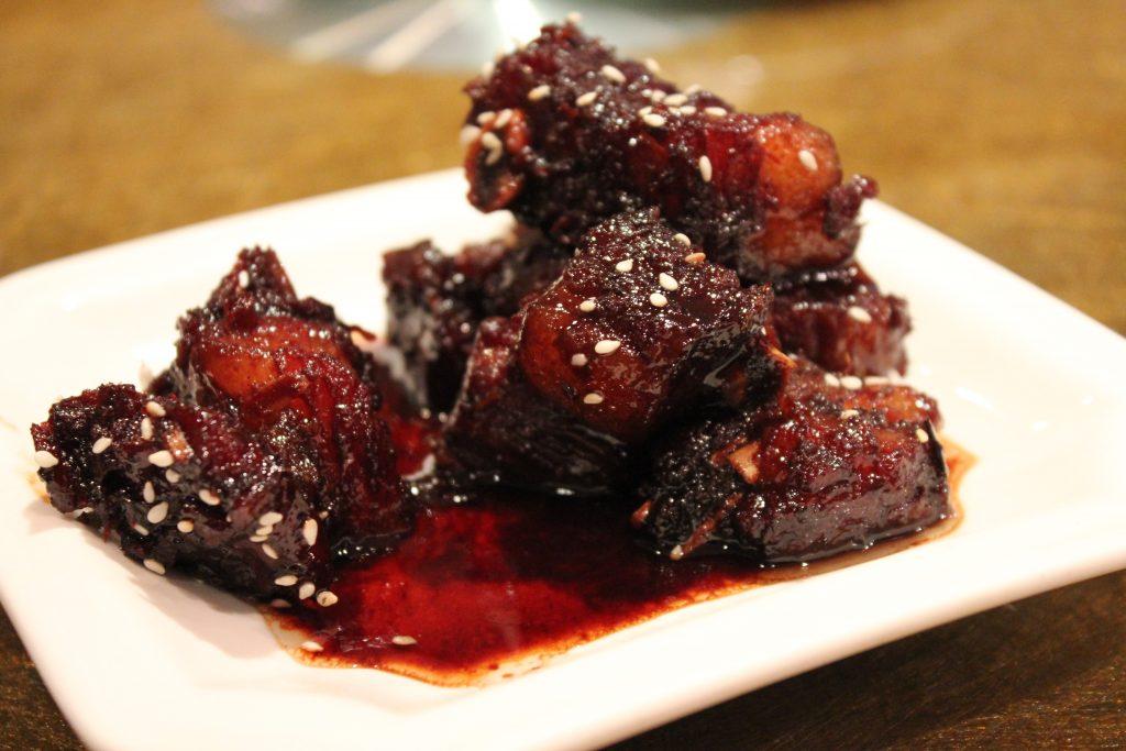 red-braised pork, hongshao rou