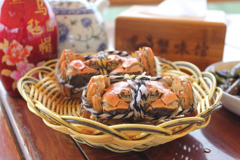 Hairy Crab Yangcheng Lake Lotus Island_3083