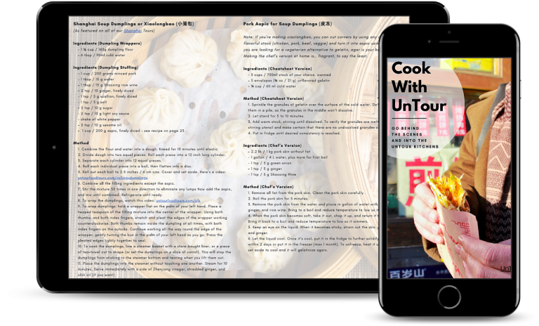 Cook With UnTour Chinese Cookbook