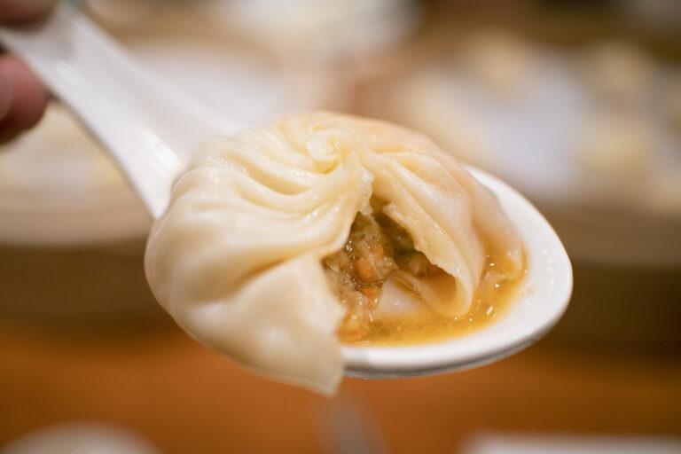 Xiaolongbao, the local cuisine of Taiwan